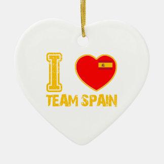 spanish sport designs christmas tree ornament
