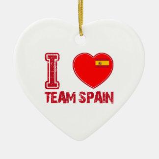 spanish sport designs ornament