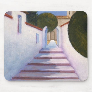 Spanish Steps Mouse Pad