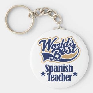 Spanish Teacher Gift For (Worlds Best) Key Ring