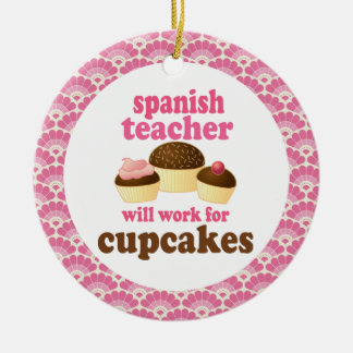 Spanish Teacher Gift Ornament