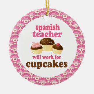 Spanish Teacher Gift Ornament