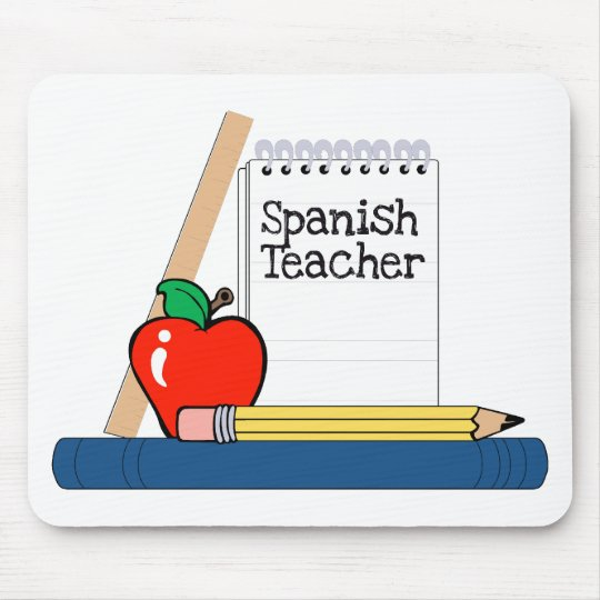 Spanish Teacher (Notebook) Mouse Mat