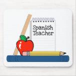 Spanish Teacher (Notebook) Mouse Mats