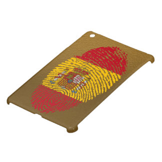 Spanish touch fingerprint flag case for the iPad mini