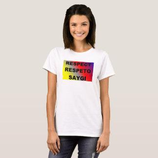 Spanish/Turkish respect t-shirt
