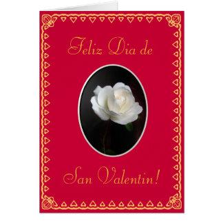 Spanish Valentine s day San Valentin tmpl Greeting Cards