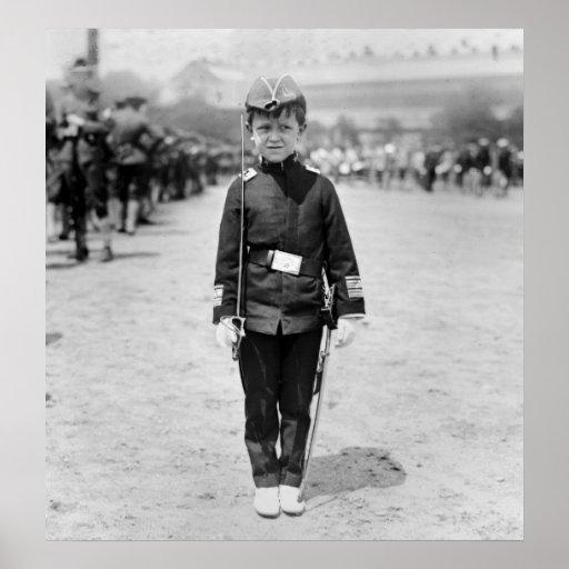 Spanish War Veteran Mascot, 1908 Posters