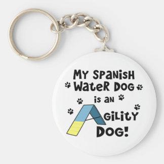 Spanish Water Dog Agility Dog Key Ring
