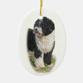 Spanish Water Dog Ornament