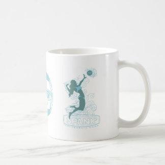 Spank Bikini Girl Blue Mugs