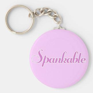 Spank me key chain