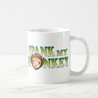 Spank My Monkey Basic White Mug