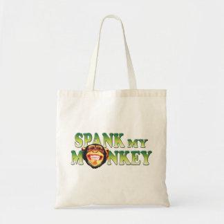 Spank My Monkey Budget Tote Bag