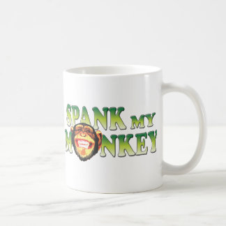 Spank My Monkey Coffee Mug