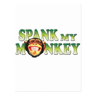 Spank My Monkey Postcard