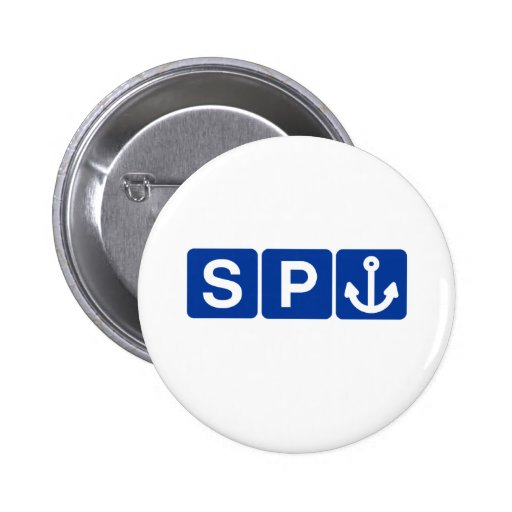 Spanker Symbol Joke Pin