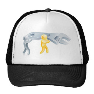 Spanner people mesh hats