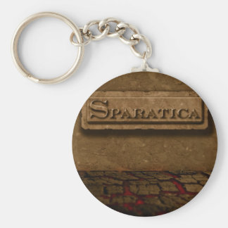 Sparatica Basic Round Button Key Ring