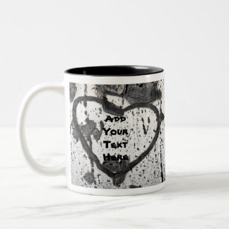 Spare An Aspen Tree Bark Photograph Two-Tone Coffee Mug