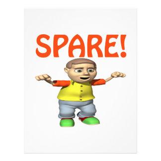 Spare Custom Flyer