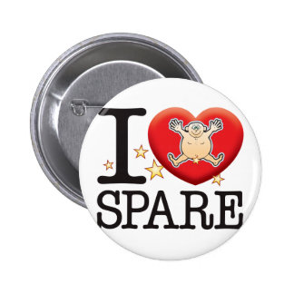 Spare Love Man 6 Cm Round Badge