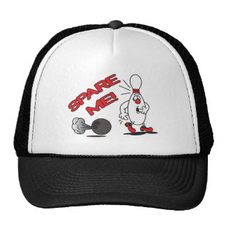 Spare Me Bowling Pin Cap
