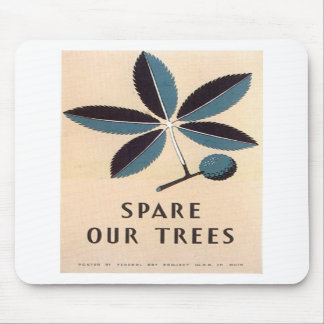 spare our trees mouse pads