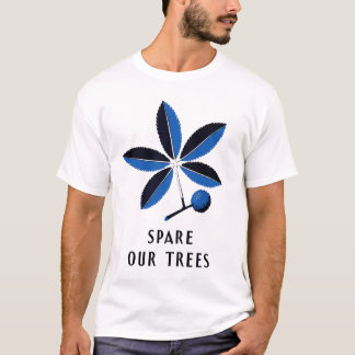 Spare Our Trees - Vintage WPA | Men's Tee-Shirt T-Shirt