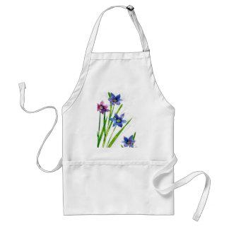 Sparing Blue Floral Aprons