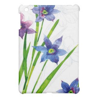 Sparing Blue Floral iPad Mini Covers