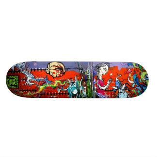 Spark Catcher - Street Sk8 Art Deck 20 Cm Skateboard Deck