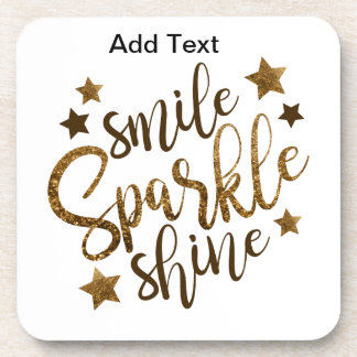 Sparkle and Shine Coaster
