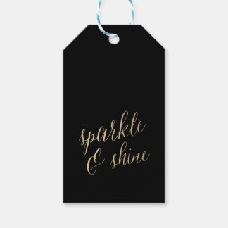 SPARKLE AND SHINE Gift Tags