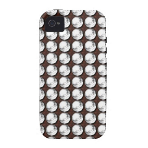 SPARKLE BLUE WHITE Stones GIFTS ART GREETINGS Vibe iPhone 4 Cases