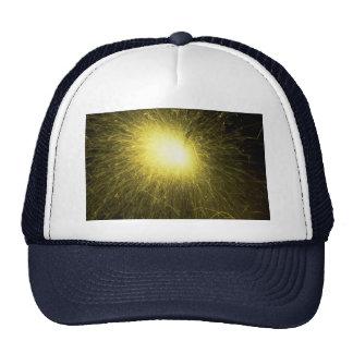 Sparkle burst mesh hats