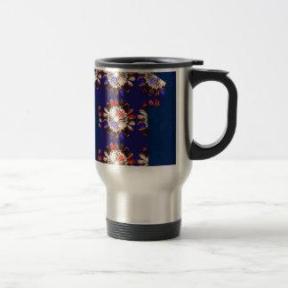 SPARKLE Chakra Sunflower Graphic Design GIFTS FUN 15 Oz Stainless Steel Travel Mug