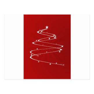 Sparkle Christmas Tree Post Card