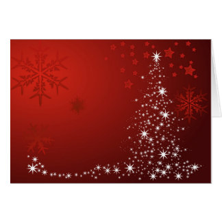 Attractive Sparkle Christmas Tree U0026amp; Snowflake Christmas Card With Blank Xmas Cards