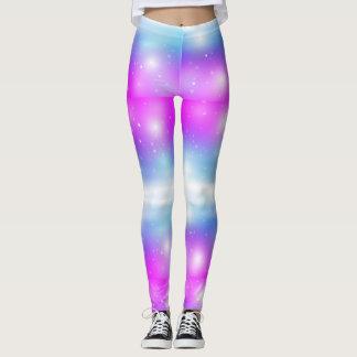 Sparkle Cotton Candy Leggings