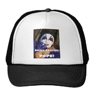 Sparkle for Pope Trucker Hats