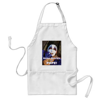 Sparkle for Pope Standard Apron