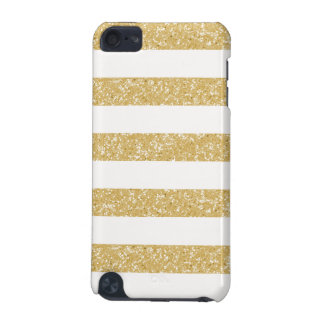 Sparkle Glitter Look Stripes iPod 5G BT Case