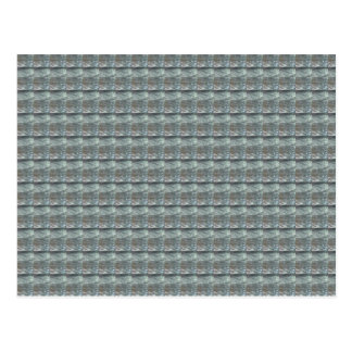 Sparkle GREY Gray Water Green Pattern Graphic Postcard