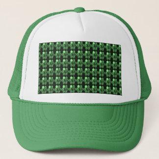 Sparkle Hexagon Emerald Green Pattern NVN289 gifts Trucker Hat
