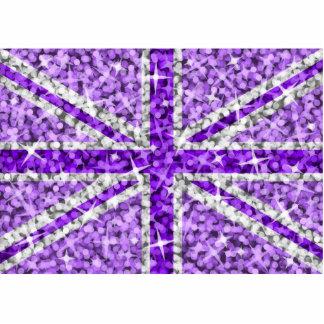 Sparkle Look UK Purple photo sculpture