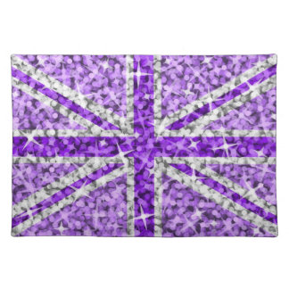 Sparkle Look UK Purple placemat