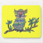 Sparkle Owl Mousepads