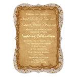 Sparkle Papyrus Ancient Wedding Invitation