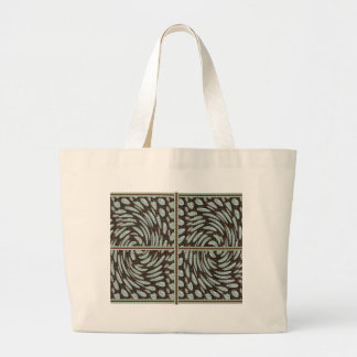 Sparkle Pearl Stone Pattern Art on Family Gifts Jumbo Tote Bag
